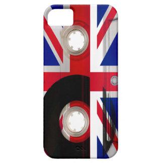 Casete de Union Jack iPhone 5 Fundas