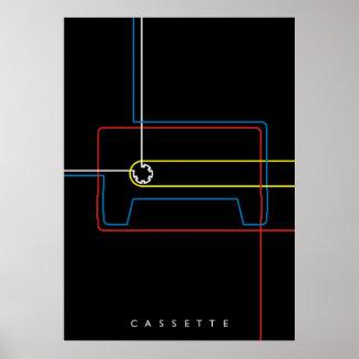 Casete Póster