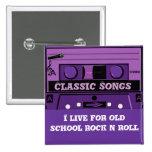 Casete púrpura Groove_ Pins