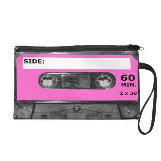 Casete rosado del vintage 80s