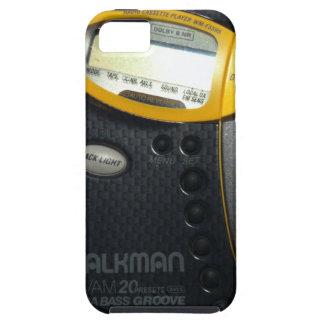 Casete Walkman Funda Para iPhone 5 Tough