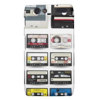 CASETES AUDIOS de la Audio-Casete-Vector-Colección Motorola Droid RAZR Fundas