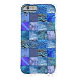 caseTiled Mosaic in Blues Photography & Design Pat iPhone 6 Case