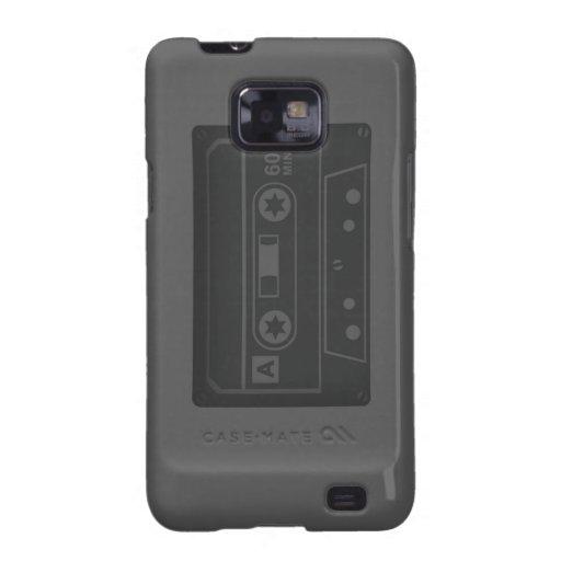 Casette (Gray) Galaxy S2 Cases