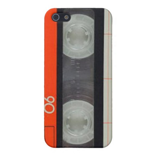 Casette iPhone Case iPhone 5 Cover