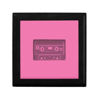 Casette Pink Keepsake Boxes