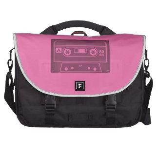 Casette (Pink) Laptop Computer Bag