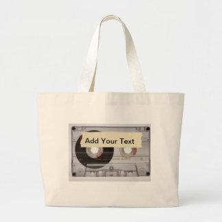 Casette Tape Canvas Bags
