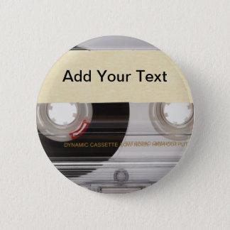 Casette Tape Pinback Button