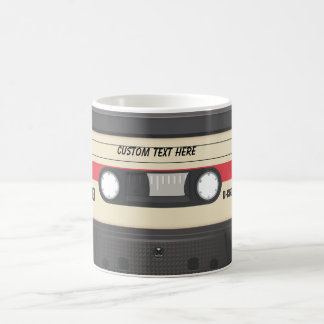 Casette Tape - Sunset Red Coffee Mug