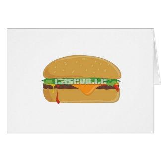 Caseville Cheeseburger Festival Tshirts Card