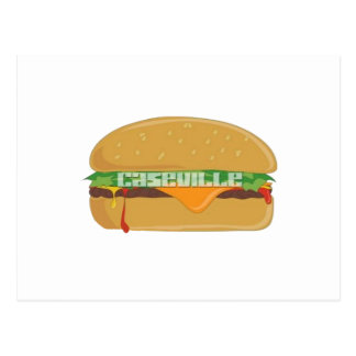 Caseville Cheeseburger Festival Tshirts Postcard