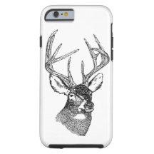 caseVintage deer art graphiccase iPhone 6 Case