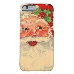 caseVintage Smiling Santa Christmas Holiday Gift I iPhone 6 Case