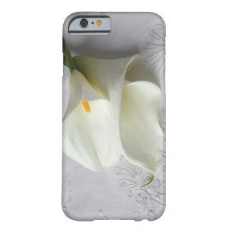 casewhite calla lilies on linen iphone4 ID casecas iPhone 6 Case