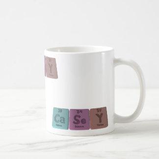Casey as Carbon Selenium Yttrium Classic White Coffee Mug