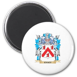 Casey Coat of Arms - Family Crest 2 Inch Round Magnet
