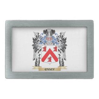 Casey Coat of Arms - Family Crest Rectangular Belt Buckle