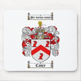 CASEY FAMILY CREST -  CASEY COAT OF ARMS MOUSE PAD