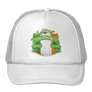 Casey Irish Shield Trucker Hats