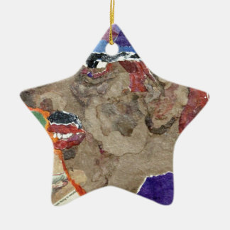 Casey. Ceramic Star Decoration