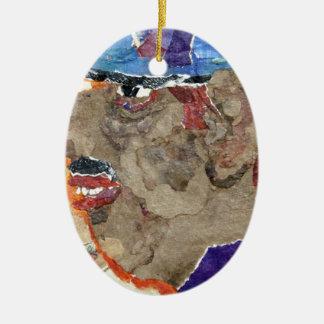 Casey. Ceramic Oval Decoration