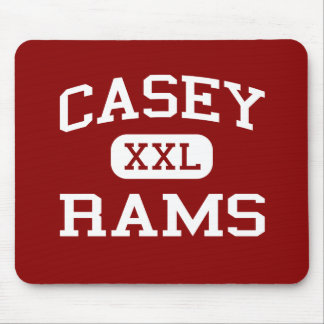 Casey - Rams - Middle - Mount Vernon Illinois Mouse Pad