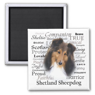 Casey Traits 2 Inch Square Magnet