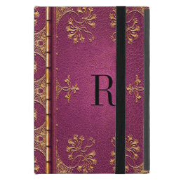 Casgraine Kam Monogram Cover For iPad Mini