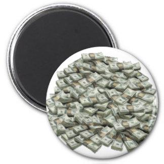 Cash 2 Inch Round Magnet