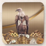Cash Buzzard Beverage Coaster