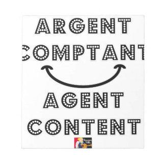 Cash Content Agent Notepad