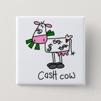 Cash Cow Tshirts and Gifts Button