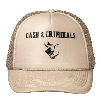 """Cash & Criminals"":Trendy Hipster Fashion Trucker Hat"