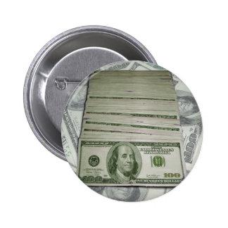 Cash Flow 2 Inch Round Button