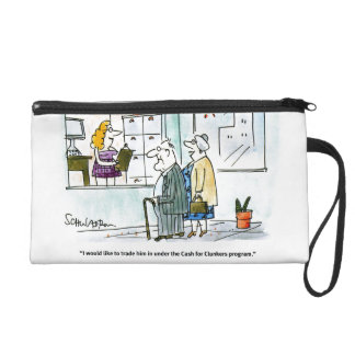 Cash for Clunkers Wristlet