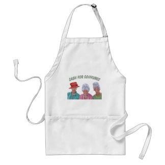 Cash For Coiffures Adult Apron