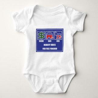 CASH GAS ASS Light Baby Bodysuit