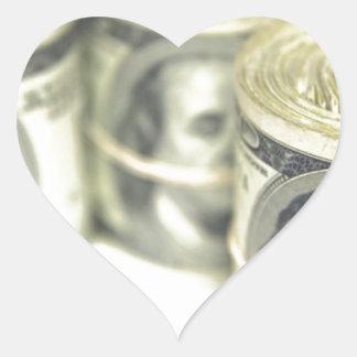 CASH HEART STICKER