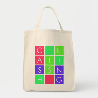 Cash Is King Grocery Tote Bag