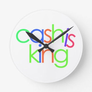 Cash Is King Clock (Type A)