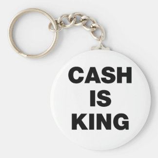 Cash is King Keychain