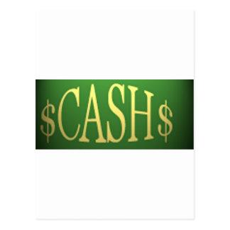 CASH IS KING! POSTCARD