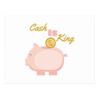 Cash is King Postcard