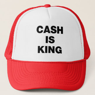 Cash is King Trucker Hat