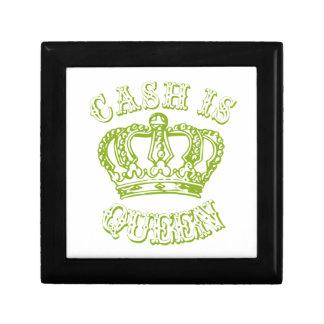 Cash is Queen Keepsake Box