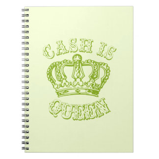 Cash is Queen Note Books