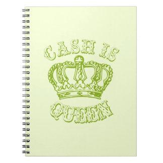 Cash is Queen Note Books