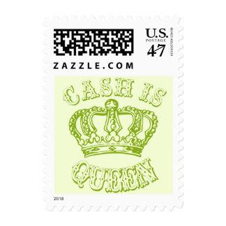 Cash Is Queen Postage