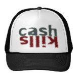 cash kills mesh hats